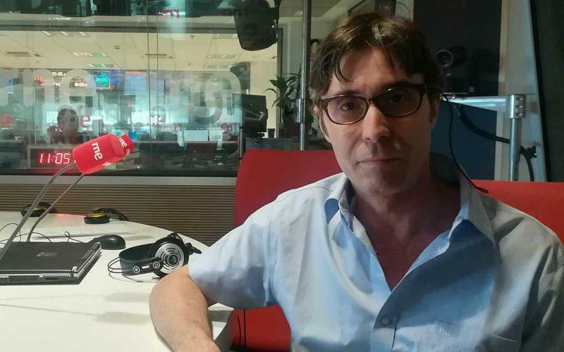 Entrevista Carlos Pardo Radio Nacional de España RTVE